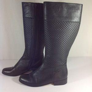 Vaneli Weave Riding boots size 7M
